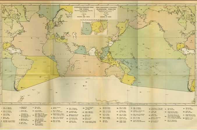1928 Limits of Oceans and Seas